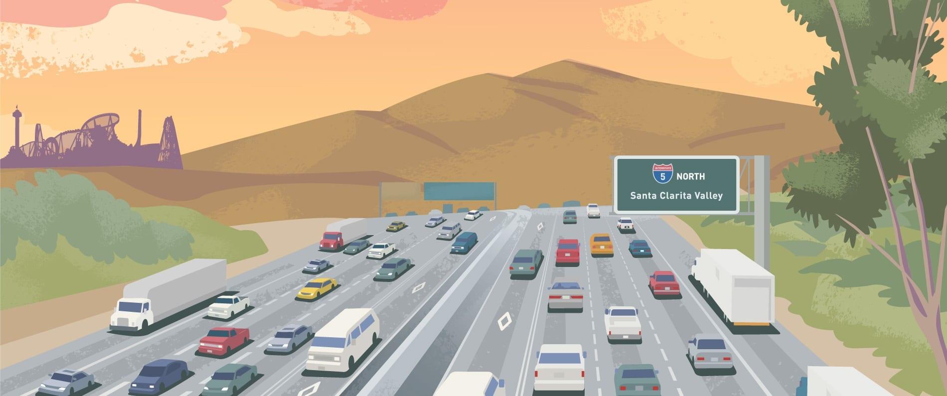 Santa Clarita Under Construction More Traffic